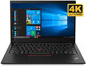 Lenovo ThinkPad X1 Carbon 7th Gen 20QD000SUS 14-Inch UHD Ultrabook (Intel Core i7-8665U, 16 GB RAM, 1 TB SSD, Windows 10 Pro), Black