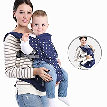 57cbb677915 Amazon.com   Versatility Soft Baby Carrier Backpack with Hip Seat ...