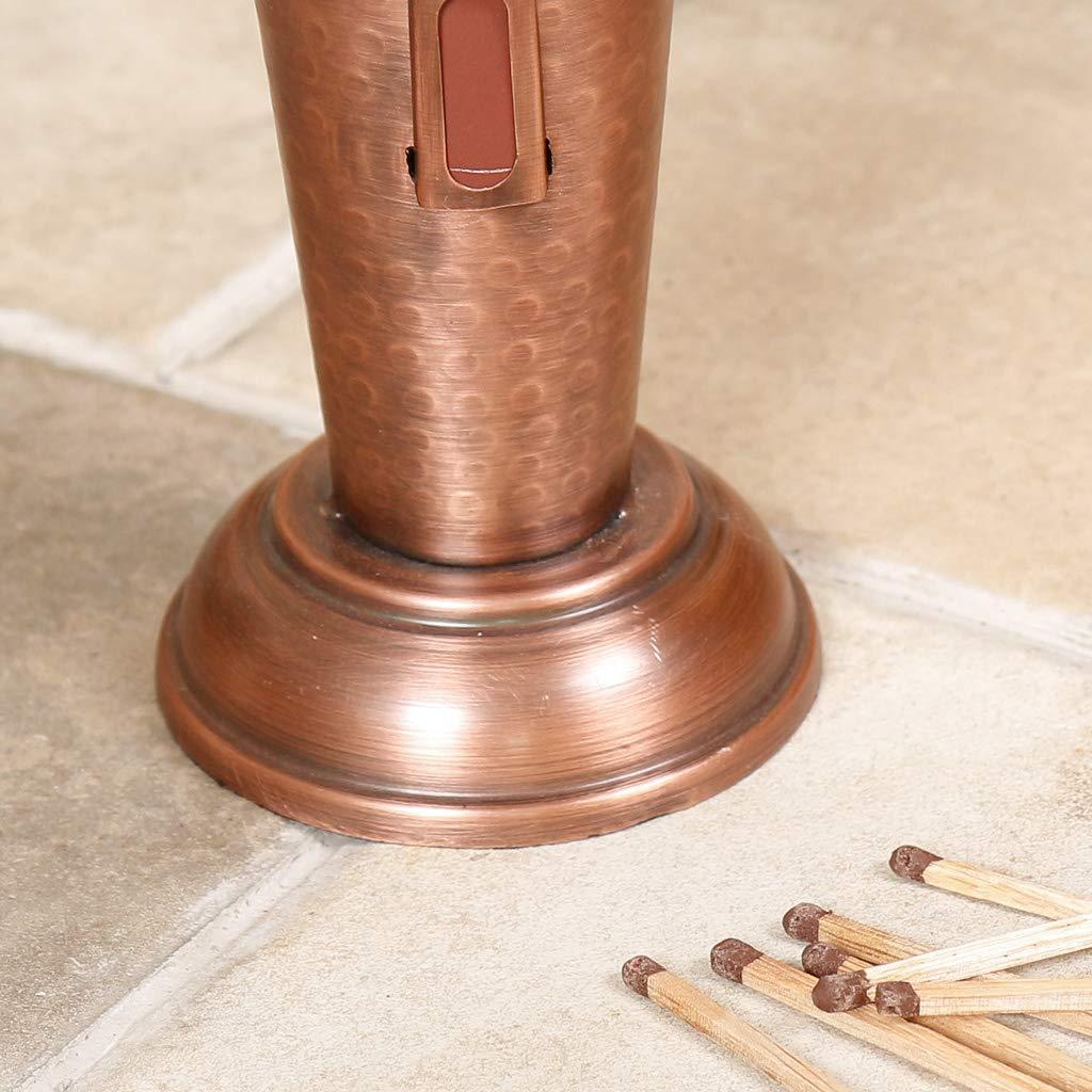 Brush and Shovel Tool Set Tongs Deluxe Copper Handled Fireside Companion Poker