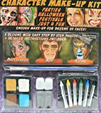 Halloween Animal Character Make-Up Kit Easy Step-by-Step Instructions & Photos