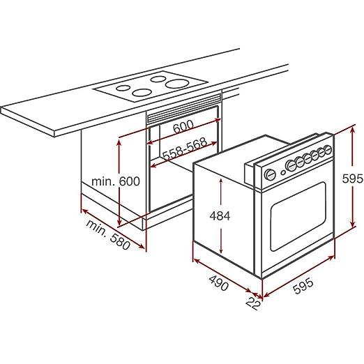 Teka DUETTO 435.1 Horno eléctrico sets de electrodoméstico ...