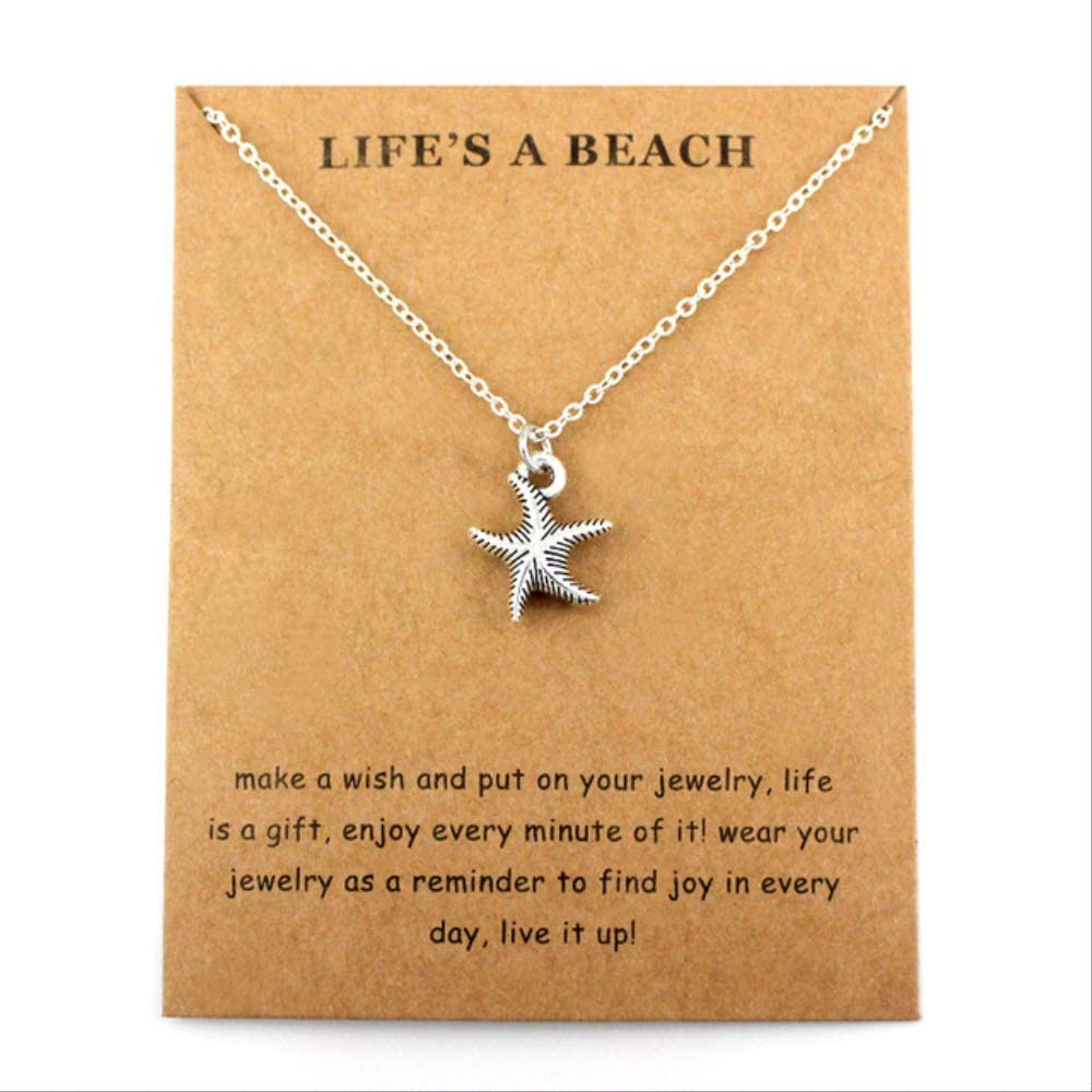 Haiyuan Bracelet Ocean Waves Nautical Beach surf Pendants Silver Necklaces Women Men Unisex Fashion Jewelry Lover Party Gift Direct Shipping