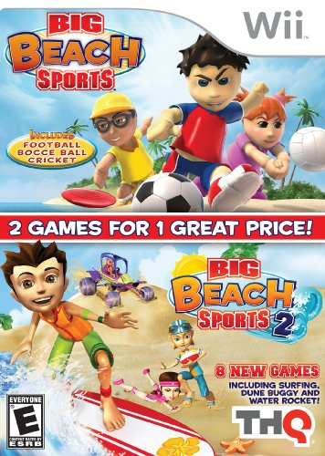 Big Beach Fun Pack - Nintendo Wii