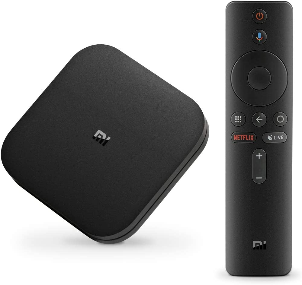 Xiaomi Android TV Box, Mi Box S 4K Ultra HD / DTS / H.265 / Dual WiFi / BT 4.2 / 3D / Sonido Dolby / HDMI, Asistente de Google con Chromecast, Android Set-Top Box: Amazon.es: Electrónica