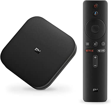 Xiaomi Mi Box S 4K HDR Android TV with Google Assistant Remote Streaming Player