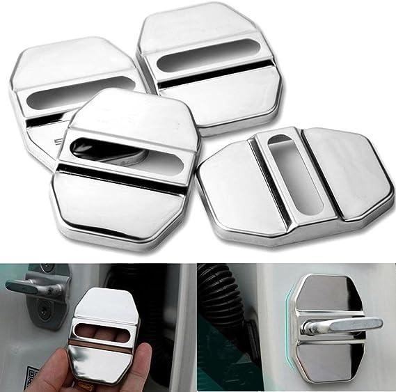 Autotürabdeckung Für Innen Edelstahl Zubehör Für Mercedes Benz 4 Stück Auto