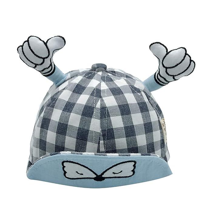Lonshell _Sombrero Gorra de Dibujos Animados Gorra de Béisbol Sombrero Bebé Niño Niña Sombrero de Sol