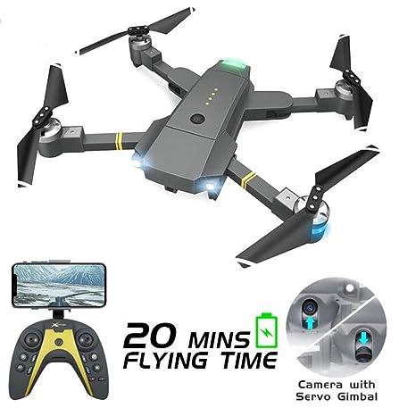 HZRKJ Drone de Antena WiFi con cámara HD de 1080P con Modo ...