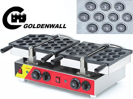CGoldenWall Máquina de hacer gofres NP-541 Walnut cake making ...