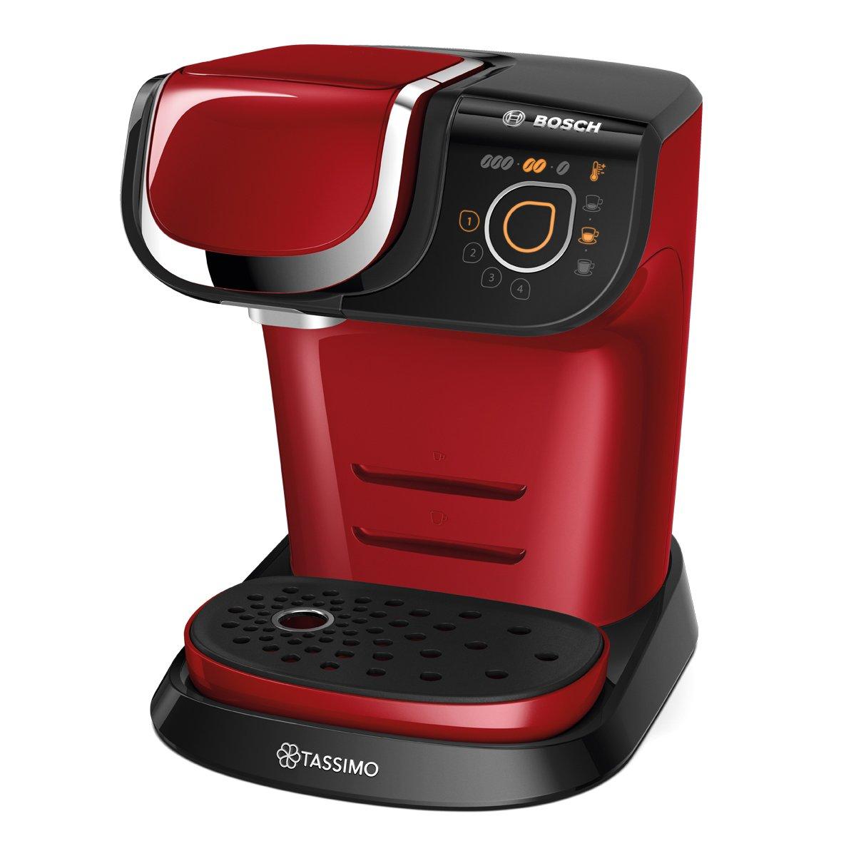 Bosch TAS6003 Tassimo My Way - Cafetera automática de cápsulas, interfaz SensorTouch, 1500 W
