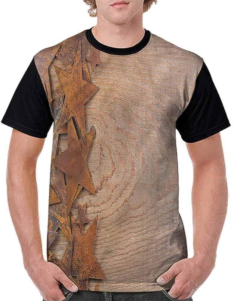Loose T Shirt,American Ranch Lasso Fashion Personality Customization