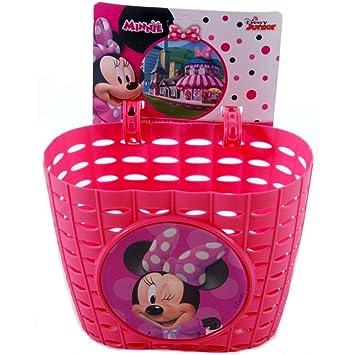 Cesta bicicleta Minnie Mouse niña chica: Amazon.es: Deportes y ...