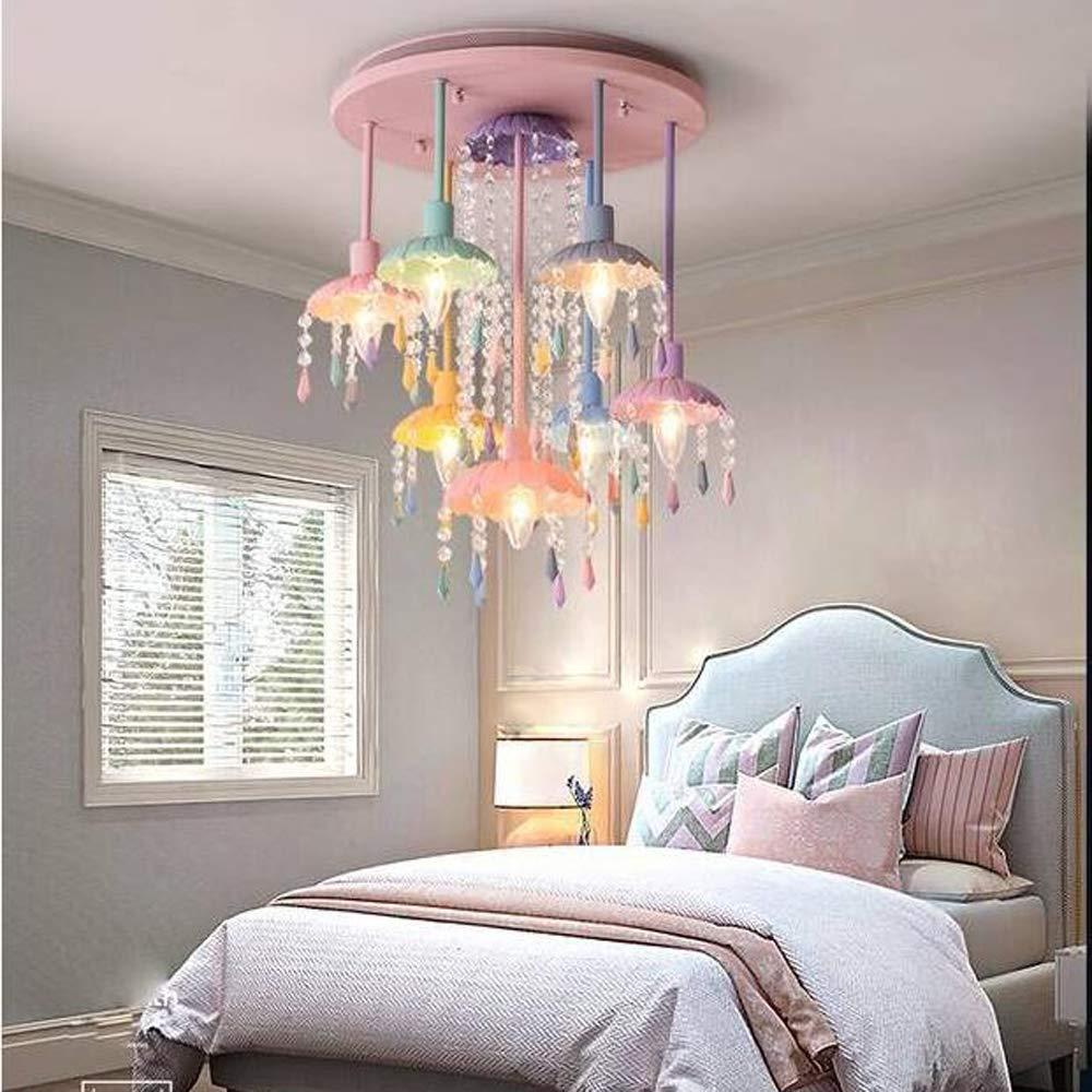 Amazon.com: TYX Crossdresser Modern Color Crystal Ceiling ...