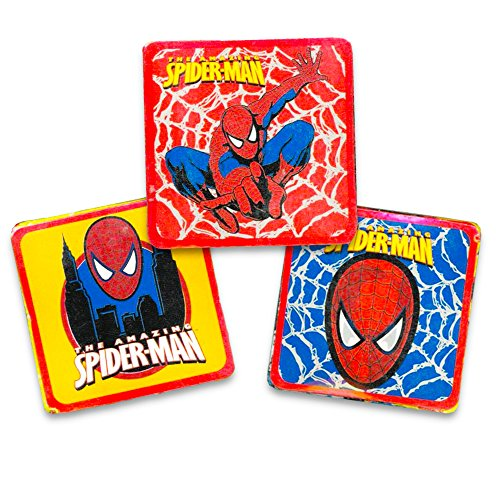 Spiderman Magic Pop-up Towels - Set of 3 (Styles May Vary) by Marvel