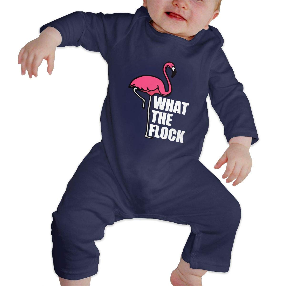 Toddler Baby Boy Girl Bodysuits What The Flock Flamingo 2 Baby Rompers