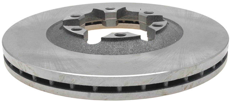 ACDelco 18A1622A Advantage Non-Coated Front Disc Brake Rotor