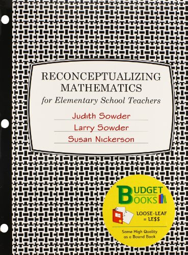 Reconceptualizing Mathematics (Loose Leaf) & MathPortal