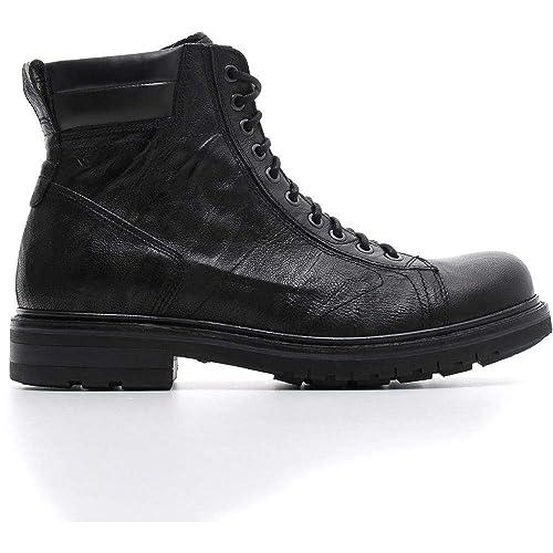 Y Complementos Zapatos Amazon Botas Giardini Hombre Nero es 1wpZFnq