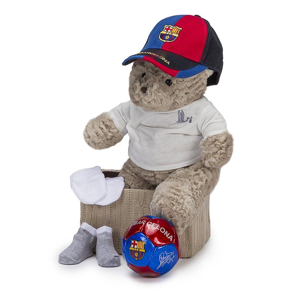 Cesta Futbol Baby FC Barcelona BebeDeParis- regalo recién nacido