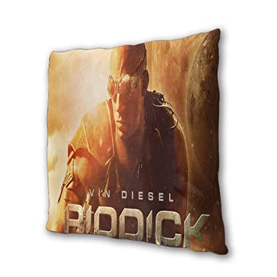 "The Chronicles of Riddick Outdoor/Indoor Cushions 18.5""x 18.5"", 2 Pieces: Home & Kitchen"
