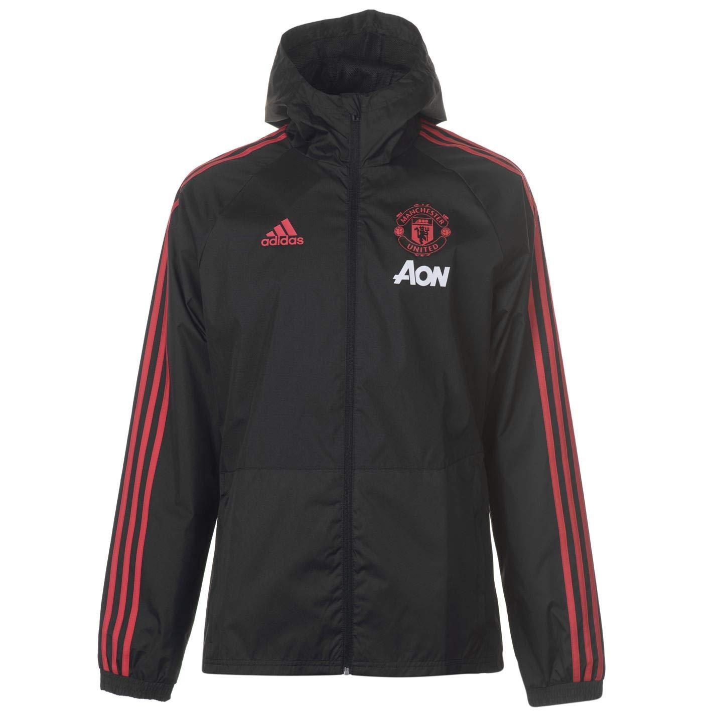 Adidas Manchester United FC Rain, Giacca Uomo CW7636