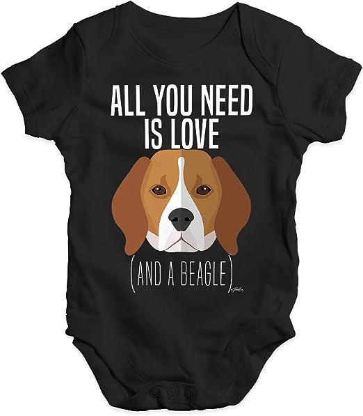 /'EVERY DOG NEEDS A BABY/' Baby Newborn Cotton Romper Babygrow
