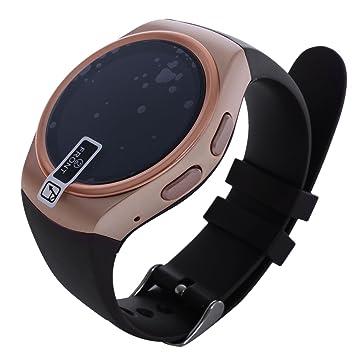 KW18 reloj - TOOGOO (R) Bluetooth reloj inteligente, Ronda ...