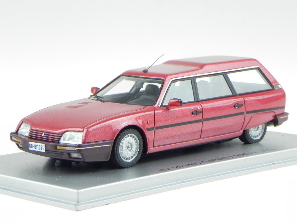 Citroen CX 25 TRD Turbo2 Break rot Modellauto KESS 1:43