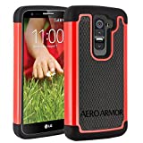 AERO ARMOR Protective Case for LG G2 Mini D620 - Red