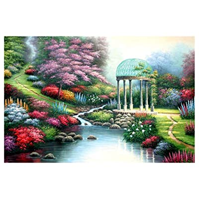 Nesee Colorful Artwork 1000 Piece Landscape Picture Adults Games Educational Toys Jigsaw Puzzles for Home Photo Frame Wall Decoration (B): Beauty