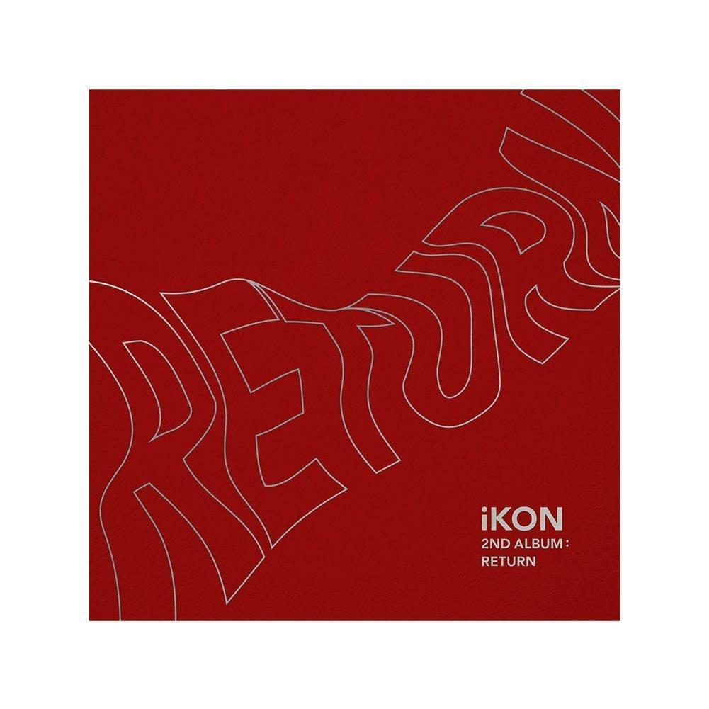 iKON - [Return]2nd Album Red Ver CD+PhotoBook+Post+PhotoCard+Sticker+etc  K-POP
