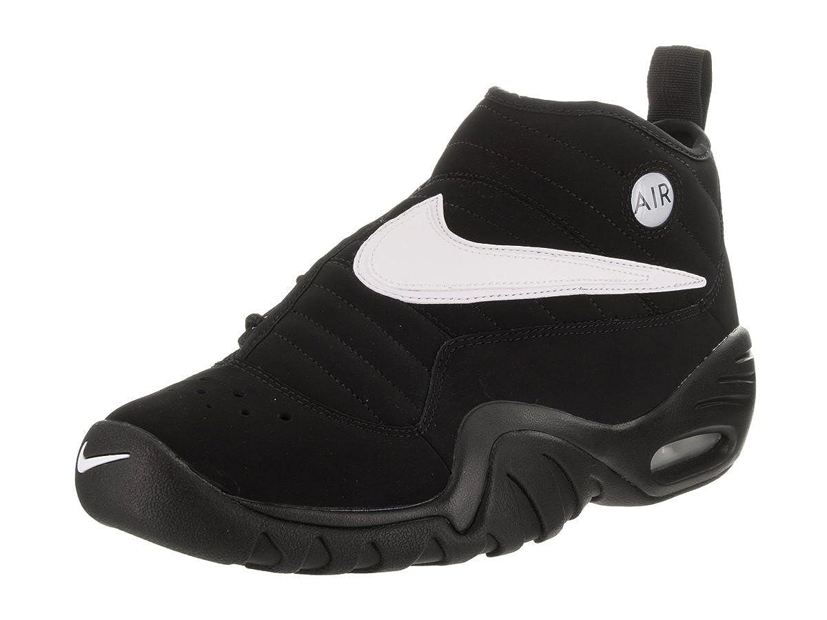 cheap for discount c9c0a 0fbd4 Nike Men s Air Shake Ndestrukt Black White Black Team Orange Basketball Shoe  13 Men US  Amazon.co.uk  Shoes   Bags
