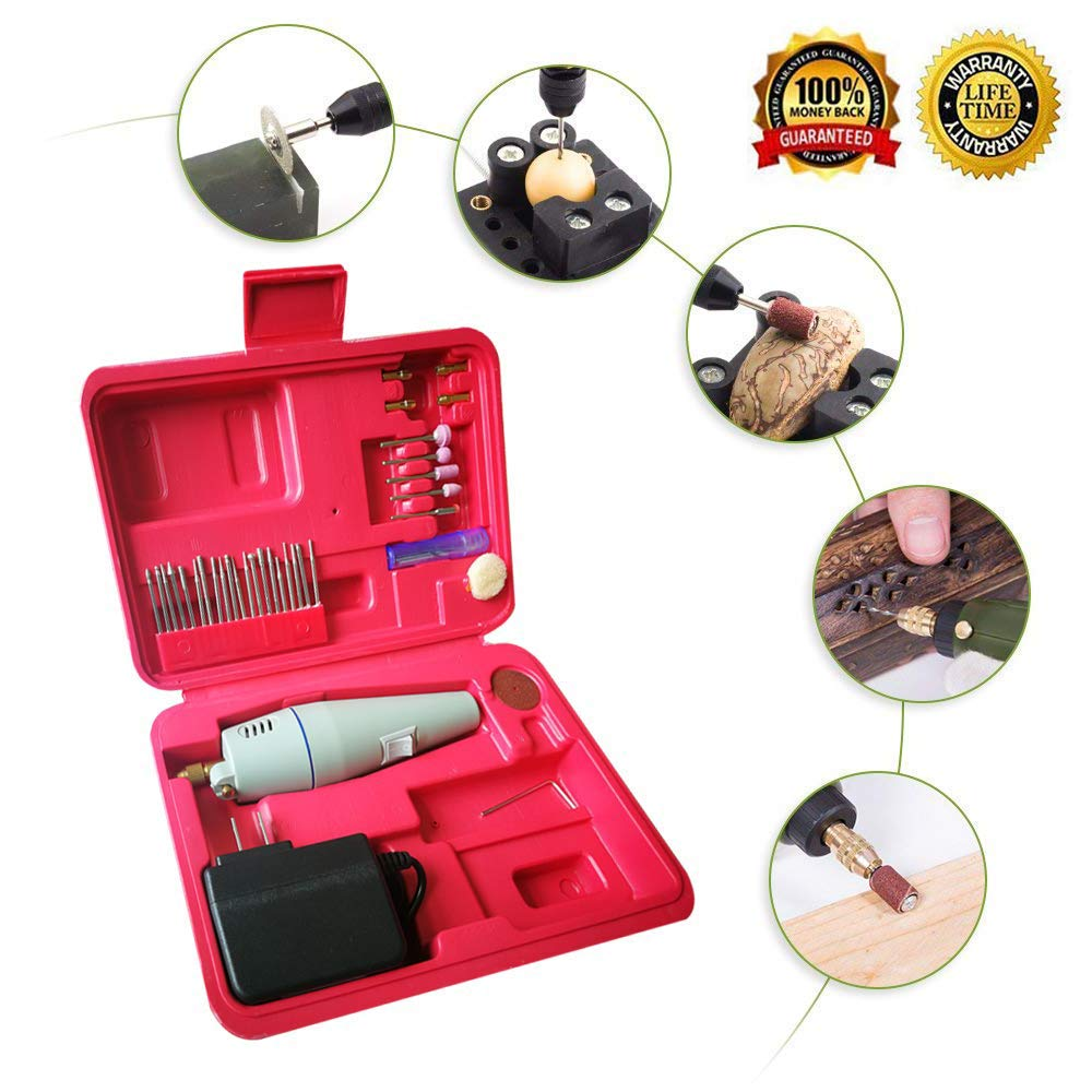 Hand Sander, DIY, Small, Electric Drills,Electric Mini Hand Drill Set for Jewelry Polishing, Around House DIY and Hobby Craft Projects