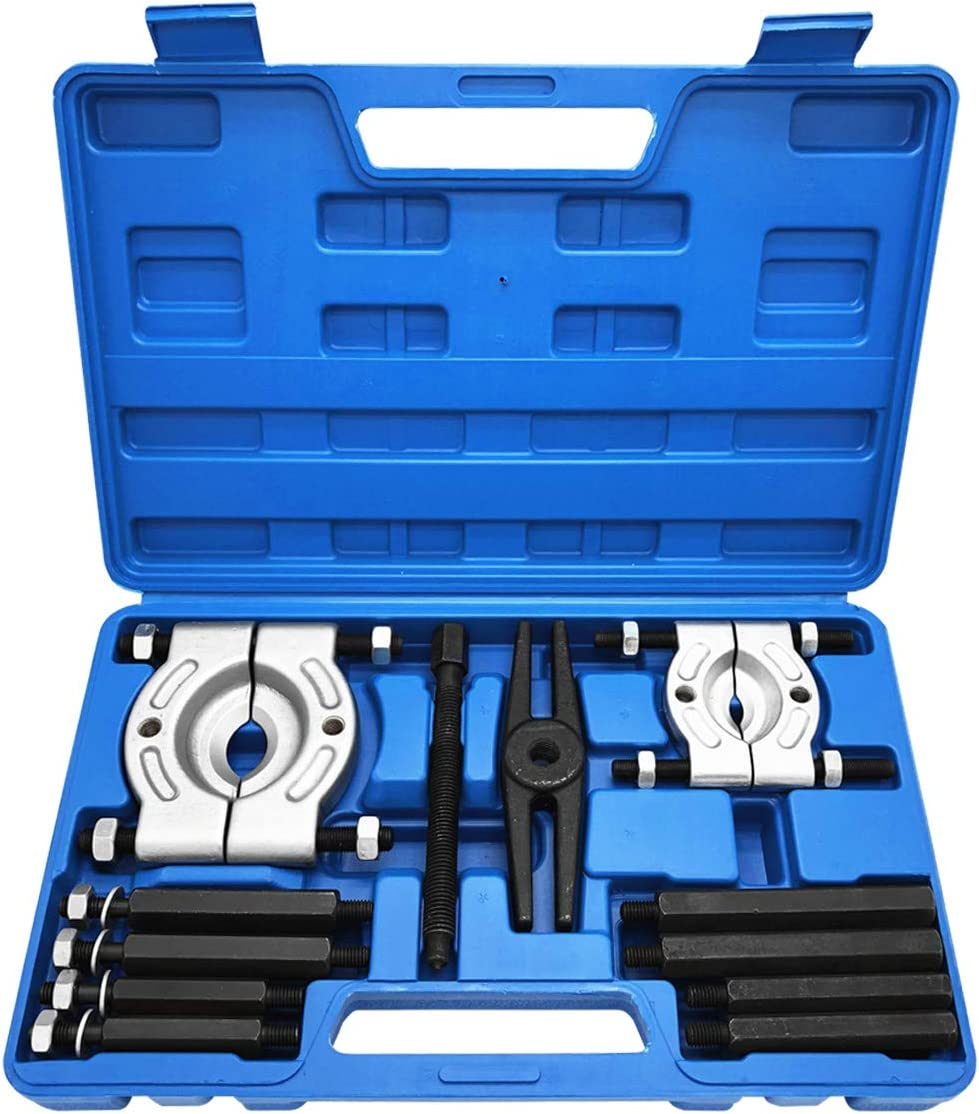 Suge Toolrock 12pcs Bearing Splitter Gear Puller Fly Wheel Separator Set with Box Tool Kit