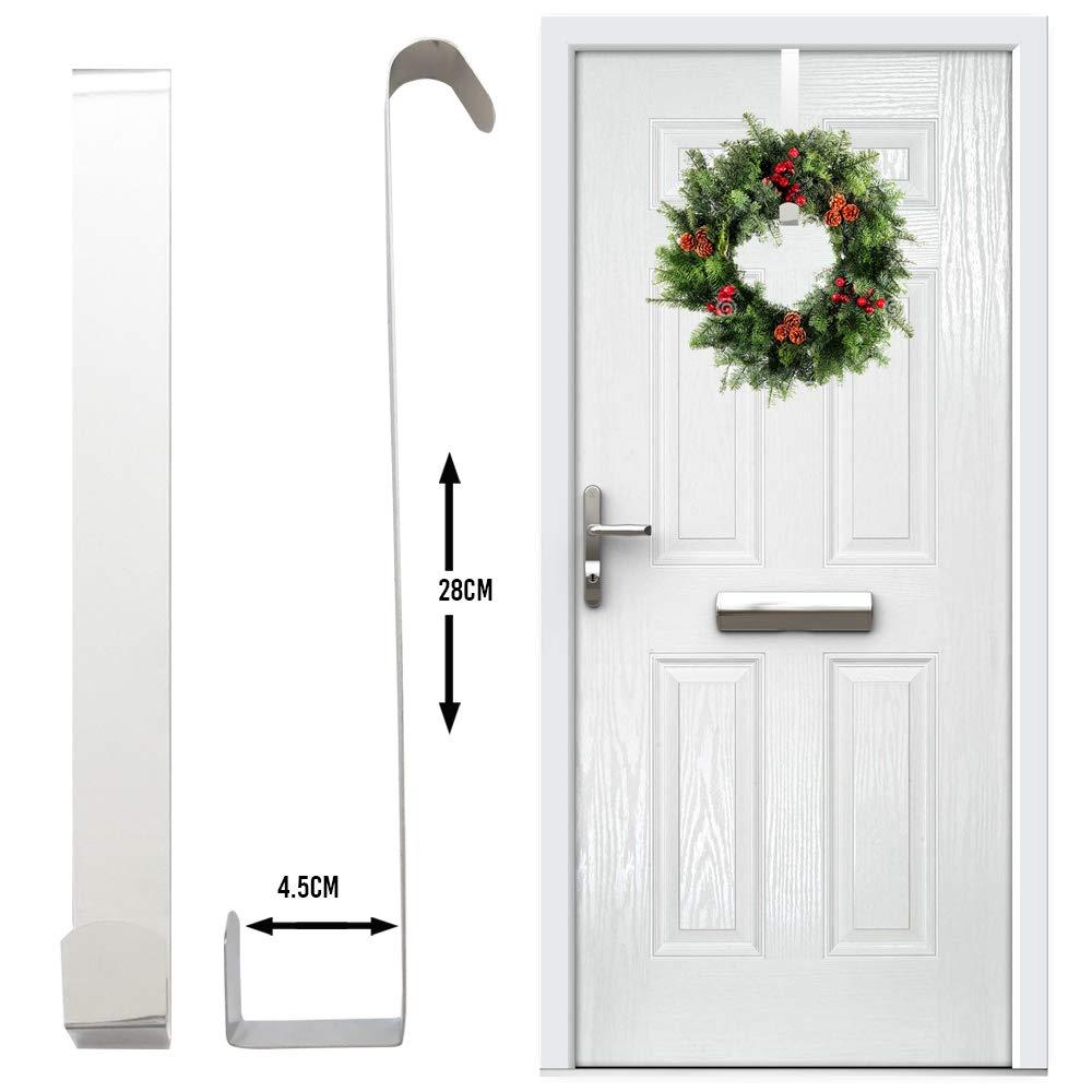 Gancho para puerta Gancho de metal fuerte 28 cm