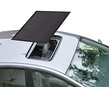 Sunroof Sun Shade Magnetic Net Car Moonroof Mesh 10 Seconds Quick Install Durable Uv Sun Protection Cover For Baby Kids Breastfeeding When Parking On