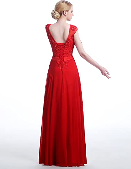 lactraum lf4050 sukienka druhny sukienka ball sukienka wieczorowa sukienka balu absolwentÓw sukienki na wesele sukienki Abi ball sukienka z cekinami koronkowa rÓżowa Czerwony armlos: Odzież