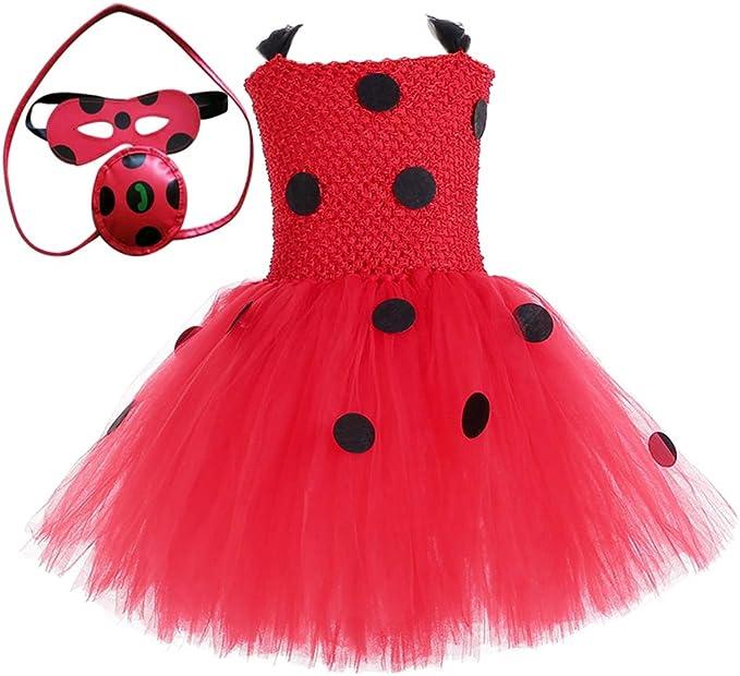 Amazon.com: Disfraz de mariquita OCOCOLOUR para Halloween ...