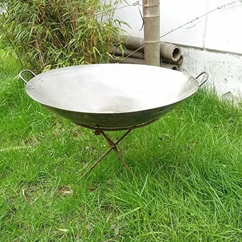 COUNTRY STYLE Cast Iron Brazier With Tripod Accessories Camino Verde /& Solutions