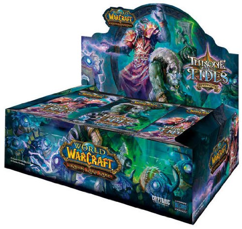 Cryptozoic - World Of Warcraft JCC - Booster Throne of the Tides
