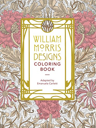 - William Morris Designs Coloring Book