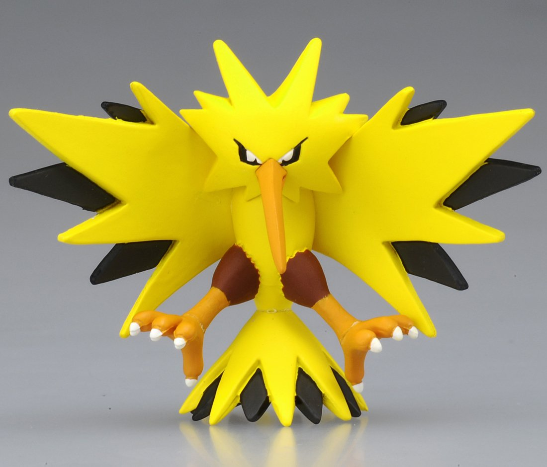 Takaratomy Official Pokemon X and Y MC-051 2 Zapdos Action Figure Japan VideoGames 819691