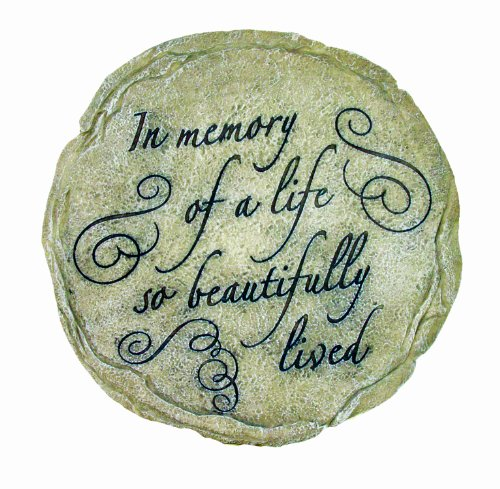 Cheap Spoontiques In Memory of Life Stepping Stone