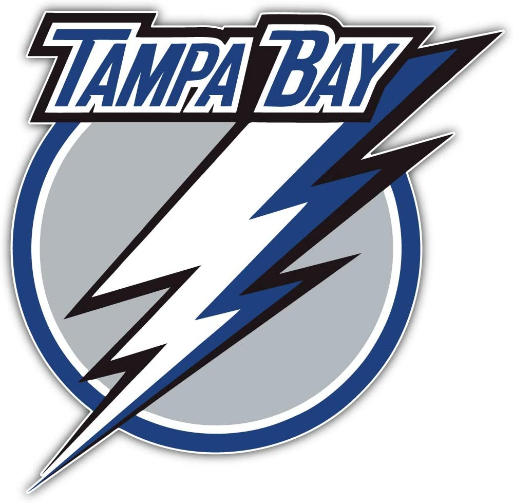 Tampa Bay Sport Car Bumper Sticker Decal 5 X 5 hotprint Lighting Hockey