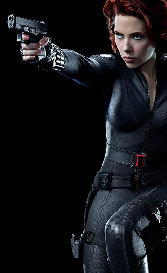 Avengers Movie Poster Black Widow 24x36 Hd Photo 07