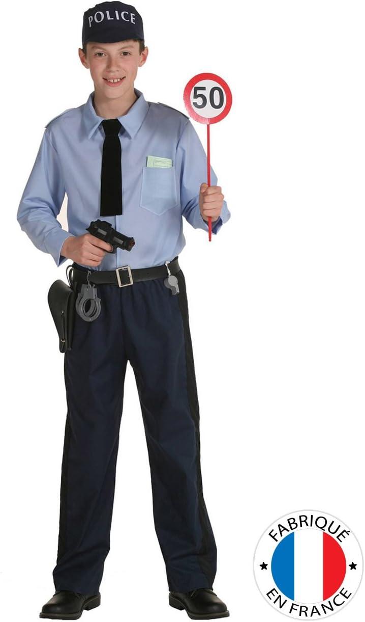 Disfraz policía niño - 3-4 años: Amazon.es: Juguetes y juegos