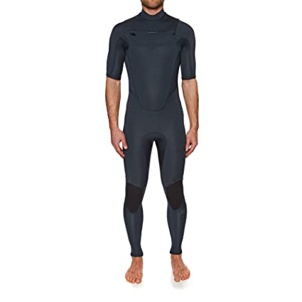 Amazon.com   Billabong Absolute 2mm Chest Zip Short Sleeve Wetsuit ... 41af28a66