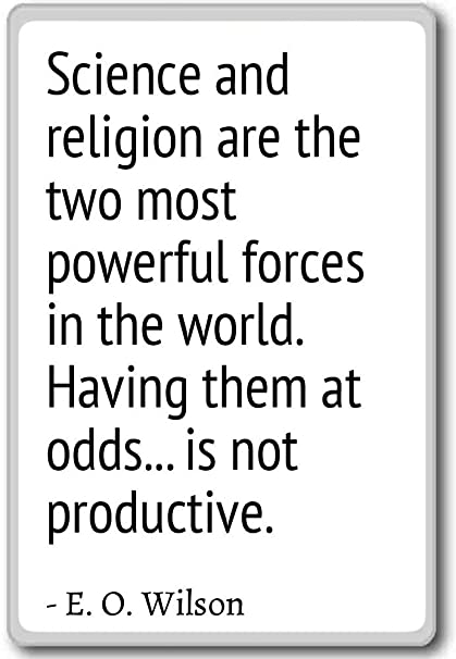 Amazoncom Science And Religion Are The Two Most Powerful
