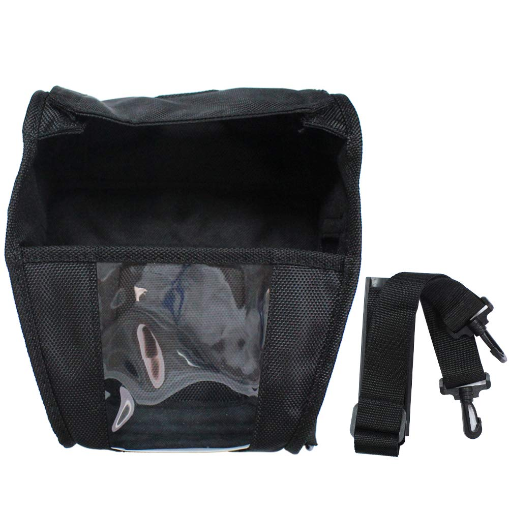 Carrying Case for Zebra QLN420 Printer w/Shoulder Strap, Fabric Soft Case Holster for QLN420 Mobile Printer