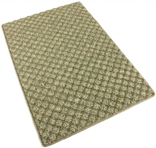 Runner 2.5'x13'-Make Green -40 oz Indoor Area Rug Carpet, Runners, & Stair Treads With Premium Nylon Fabric FINISHED EDGES. ()
